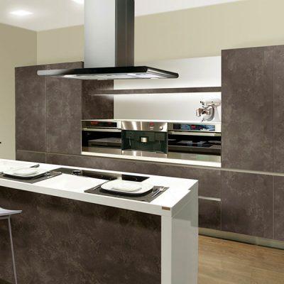 Cocina modelo Barle color gris pizarra