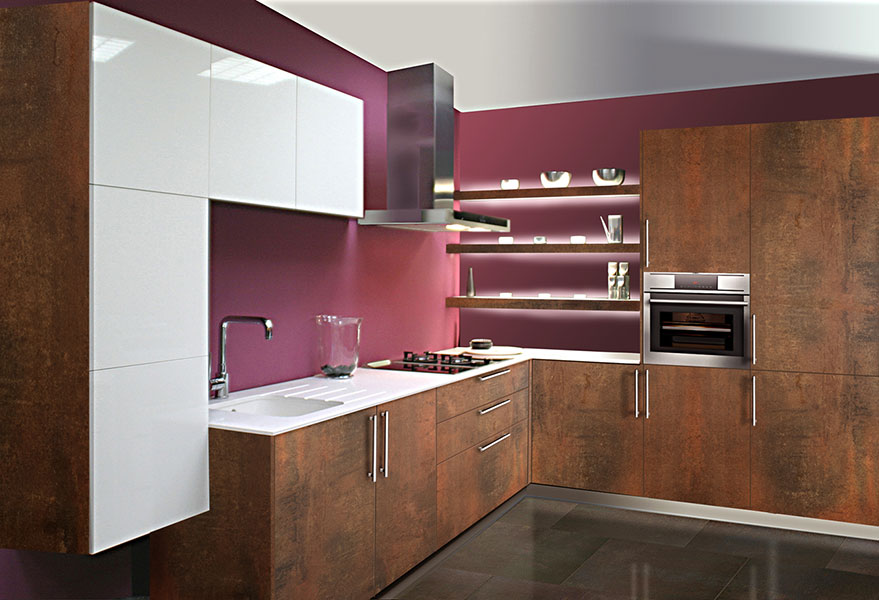 Modelo barle oxido emoci n cocinas Muebles de cocina xey modelo alpina