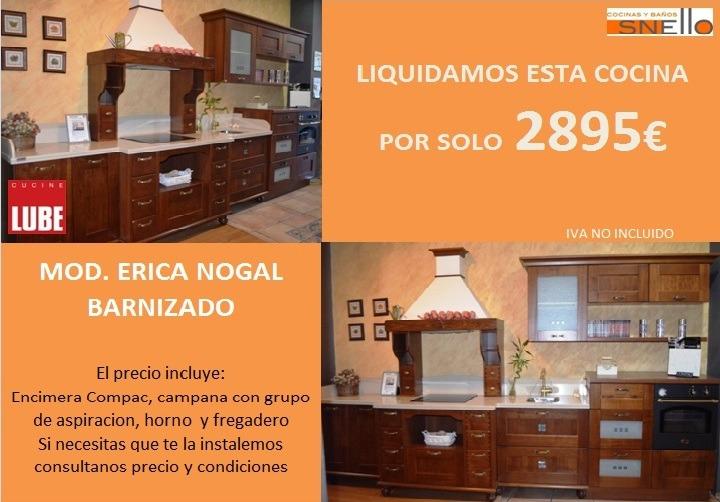 Liquidaci n cocinas exposici n - Liquidacion de muebles de cocina de exposicion ...